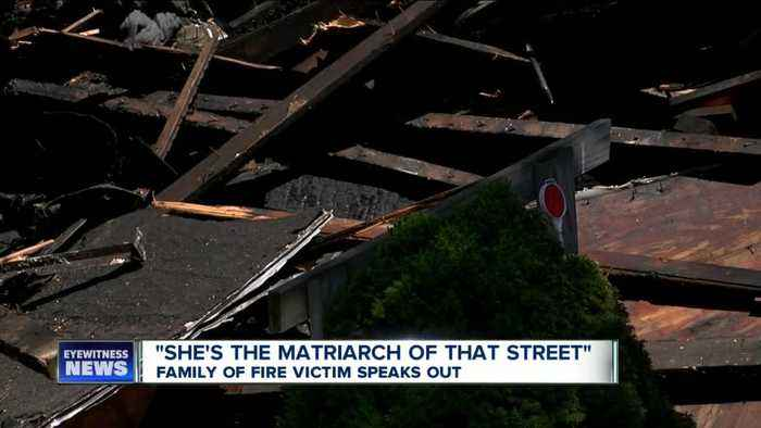 Family of fire victim on Harlow Place speak out