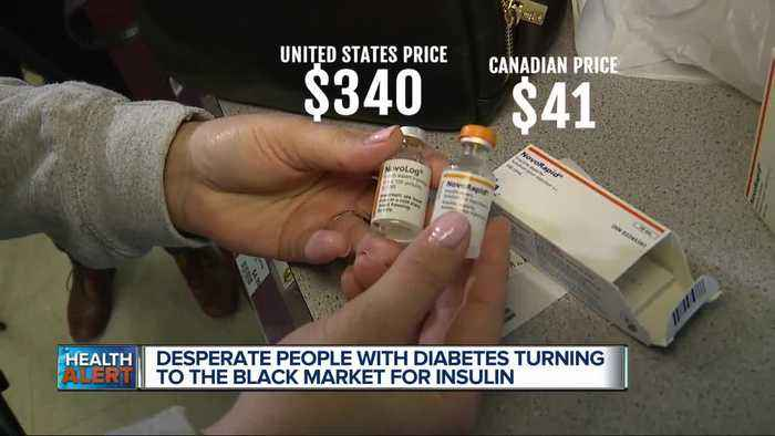 Diabetes black market: She gets insulin from Canada to help those who can't afford it