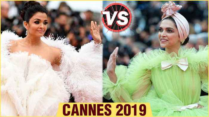 Cannes 2019 | Aishwarya Rai VS Deepika Padukone Feather Gown | Fashion Face Off