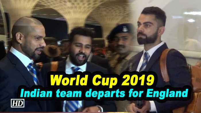 World Cup 2019 | Indian Cricket team departs for England