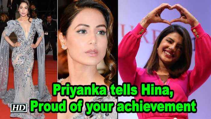 Priyaka replies Hina: Proud of your achievement
