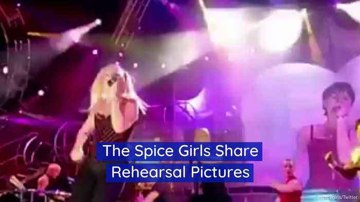 The Spice Girls Share Rehearsal Pictures