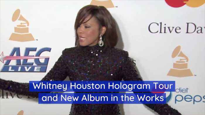 A Deceased Whitney Houston Is Going On Tour