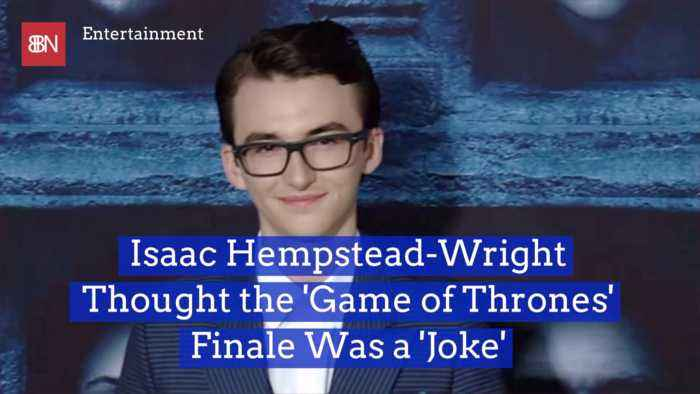 Isaac Hempstead-Wright Gives His Take On Shocking 'GoT' Finale