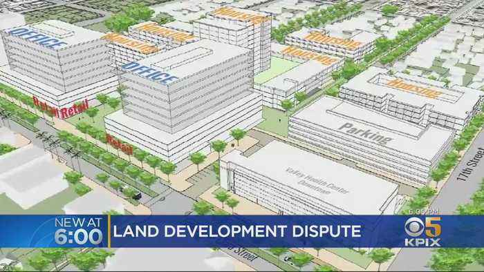 Dispute Over Plan To Transform Old San Jose Hospital Into Urban Village