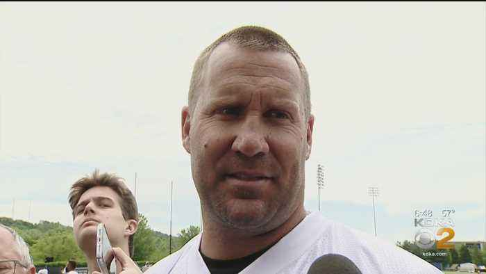 Steelers QB Ben Roethlisberger Getting To Know New Teammates At OTA Practice