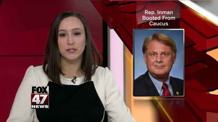 State Rep. Inman out of caucus