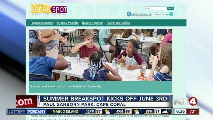 Program will provide free meals to Lee County students over the summer
