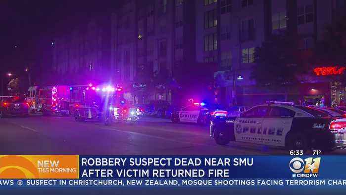 Suspect Fatally Shot After Trying To Rob Man At Apartment Near SMU Campus