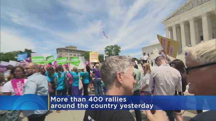 National Headlines: Abortion Rights Protest, Severe Weather & More
