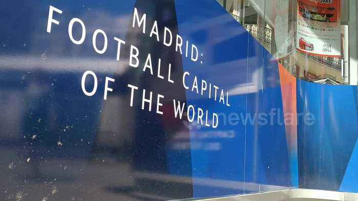 Champions League final preparations are underway in Madrid