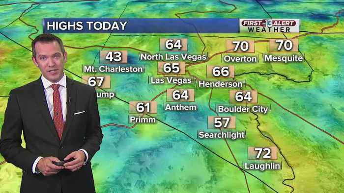 13 First Alert Las Vegas weather updated May 22 morning