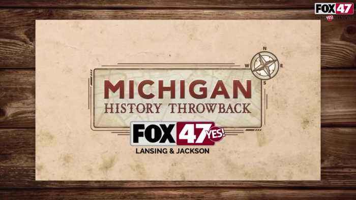 Michigan History Throwback: The Senate Chambers Chandeliers and Glass Ceiling Panels