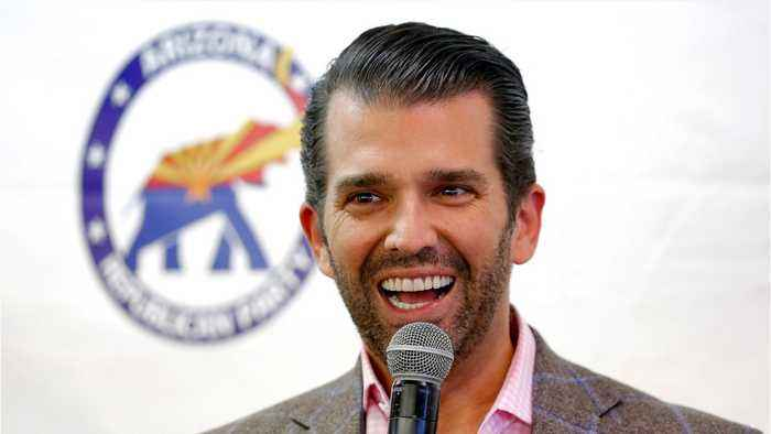Donald Trump Jr. Is Writing A Book About His Father