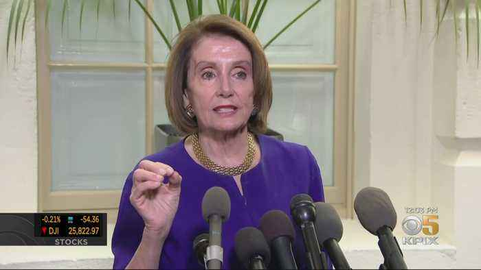President Trump Walks Out Of Meeting With Democrats After 'Cover-Up' Comment By Pelosi