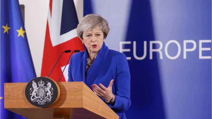 UK PM May Disappointed By Leadsom's Resignation