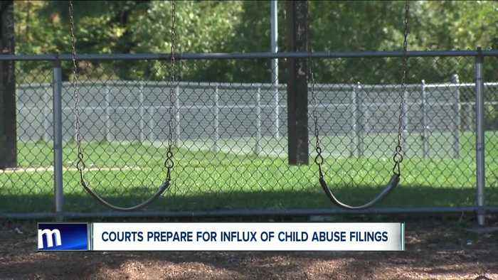 Courts prepare for influx of child abuse filings