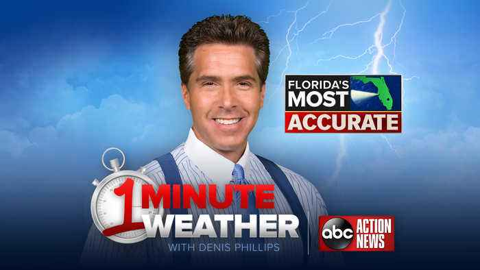 Florida's Most Accurate Forecast with Denis Phillips on Wednesday, May 22, 2019