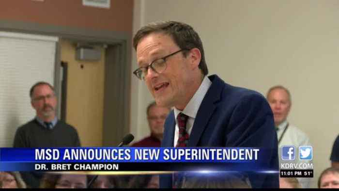 Medford School District announces new superintendent