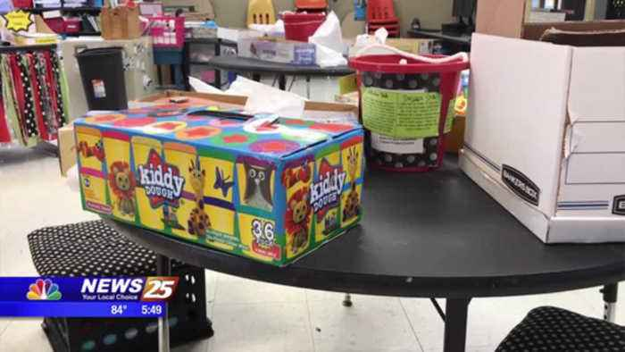 Community gives back after Woolmarket Elementary classroom robbed
