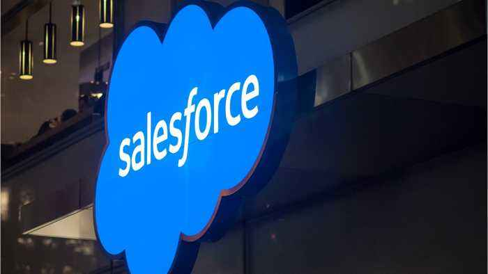 Salesforce 'Software-As-A-Service' Is Hot Right Now