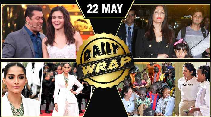 Sonam Kapoor @ Cannes, Aishwarya Returns From Cannes, Vivek Oberoi Banned | Top 10 News