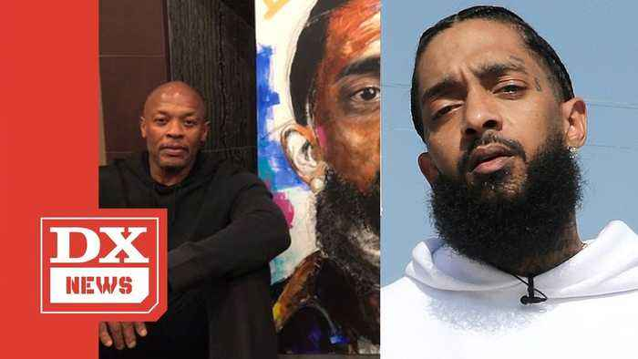 Dr.Dre Accused Of Clout Chasing Off Nipsey Hussle's Death