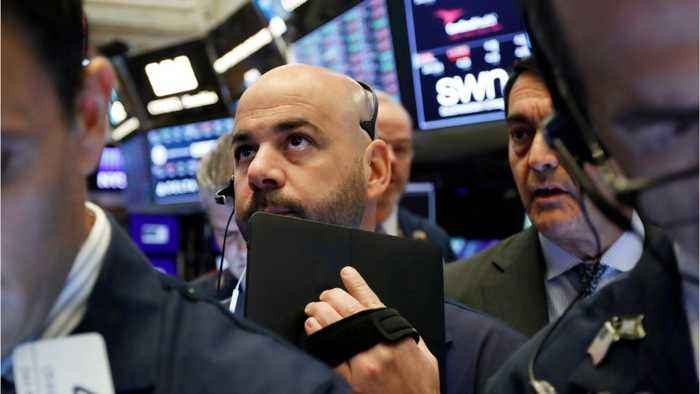 Wall Street Markets Continue Declines Into Afternoon