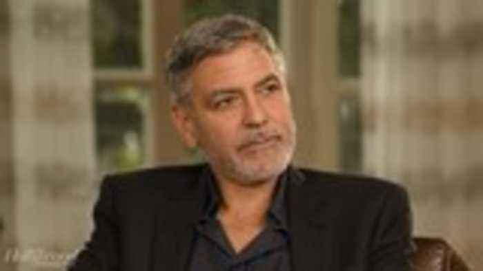 George Clooney Describes His Motorcycle Crash in Italy and Why He Quit Riding | 'Catch-22' First Look