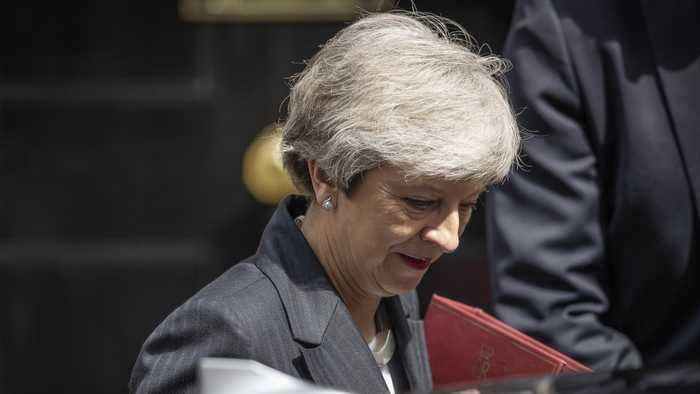 Calls Grow For Theresa May To Resign Over Latest Brexit Plan