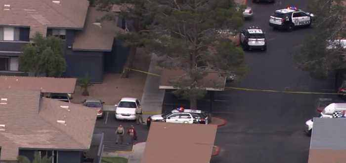 Police respond to barricade situation in west Las Vegas