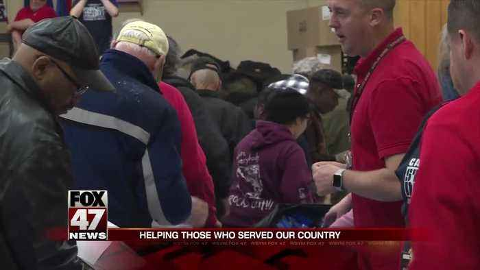 Lansing hosts the 16th Capital Area Stand Down for Homeless Veterans