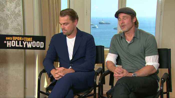DiCaprio and Pitt on fame and future of Hollywood