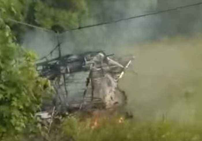 Pilot Survives After Plane Crashes and Burns in Terry, Mississippi