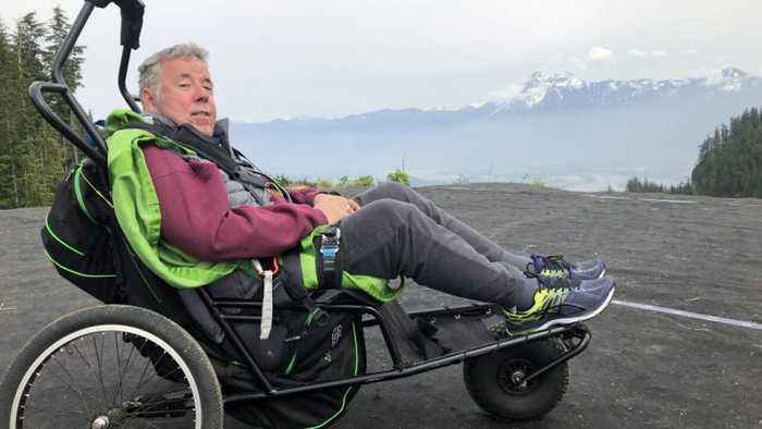 Quadriplegic Ex-pilot Of 30 Years Takes To The Skies Again In Once In A Lifetime Paragliding Flight