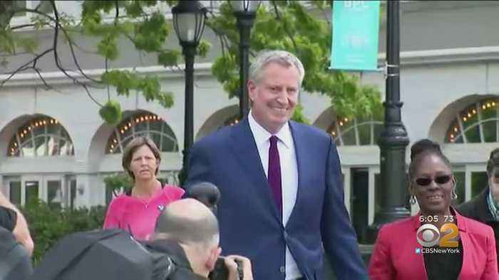 De Blasio Slammed For Taxpayer-Funded Security