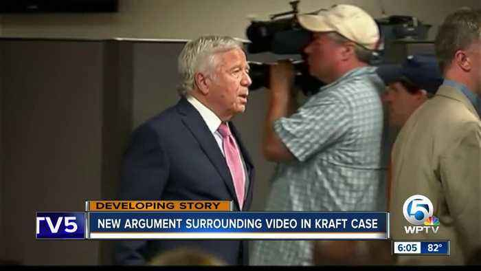 Robert Kraft's alleged sex videos at center of new argument in Palm Beach County solicitation case