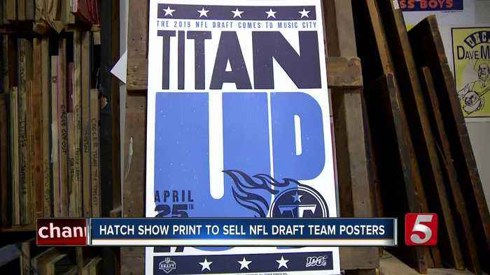 Hatch Show Print to sell NFL Draft team posters