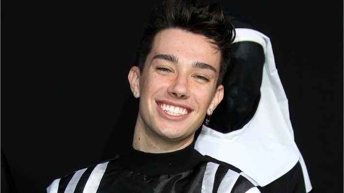 James Charles Attends Kylie Jenner's Skin Care Party
