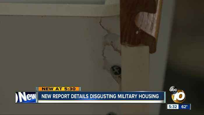 New report details squalid military housing conditions