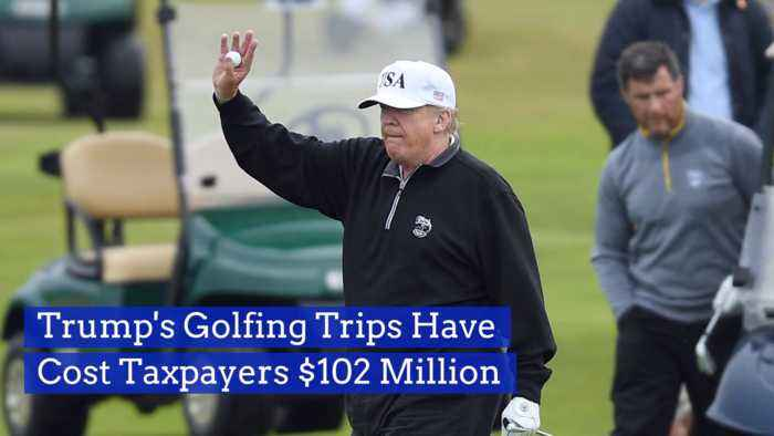 We Are Paying Bigly For Trump's Golf Breaks