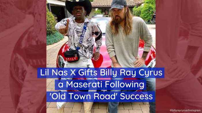 Lil Nas X Hands Billy Ray Cyrus A New Sports Car