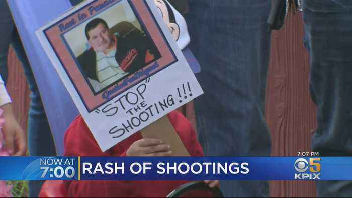 Community Holds Vigil For Richmond Man Killed By Stray Bullet