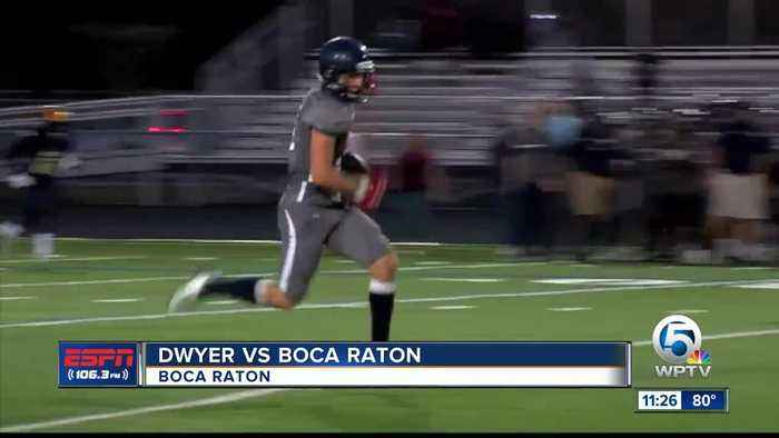 Dwyer vs Boca Raton football 5/22