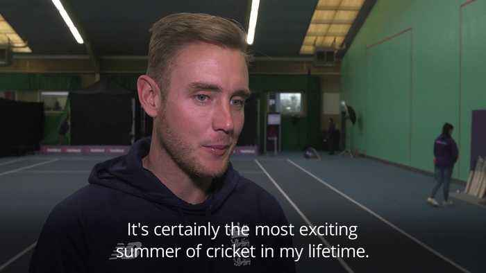 Stuart Broad: This is England's 'best chance' to win the World Cup