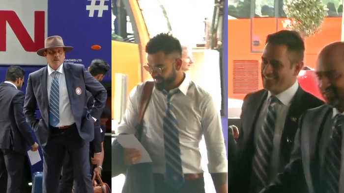 Indian Cricket Team arrive in London ahead of World Cup