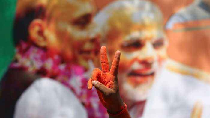 Indian PM Modi Stuns With 'Massive' Election Win