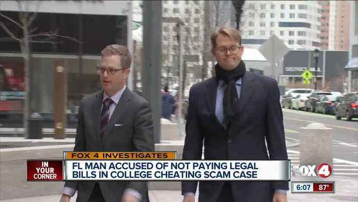 Florida man in college admission scam changes attorneys, accused of not paying legal fees