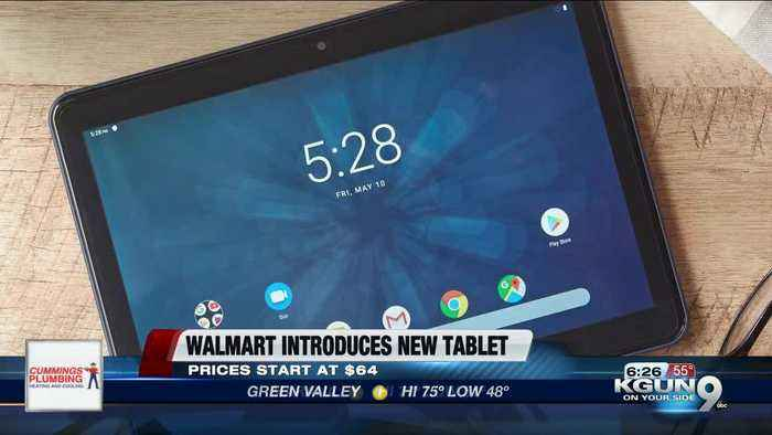 Walmart launches self-branded $64 tablet to compete with Amazon