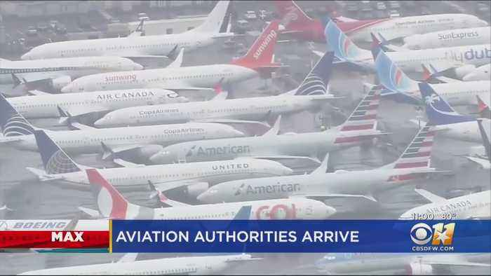 Aviation Officials Discussing 737 Max Jets At Dallas Meeting